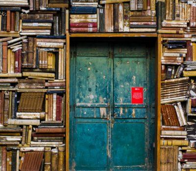Book-covered walls. Photo by Eugenio Mazzone on Unsplash