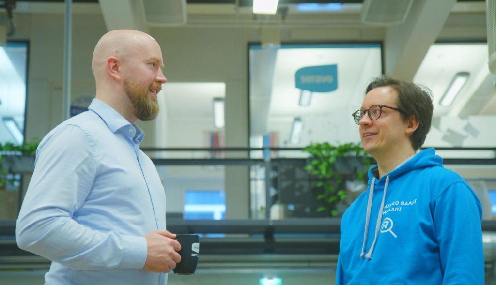 Otto Kekäläinen and Mikko Saari